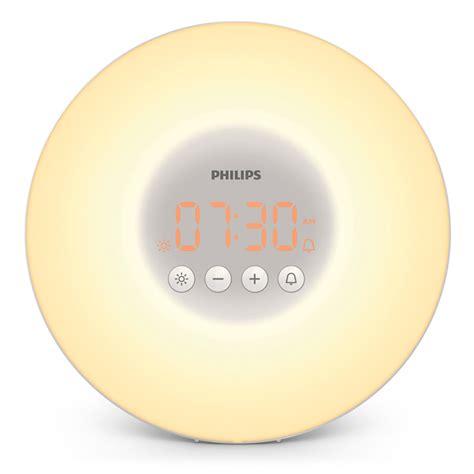 philips hf3500 60 up led light alarm clock simulation new open box ebay