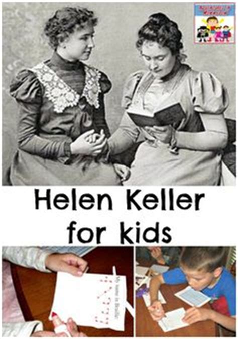 helen keller biography for students helen keller unit school pinterest posts lesson