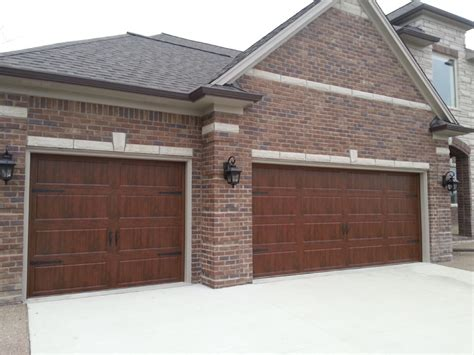 Buckeridge Garage Doors by Walnut Color Garage Doors Wageuzi