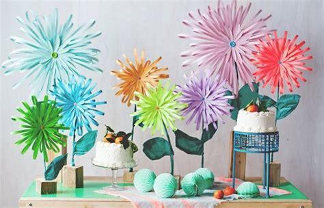 Basteln Mit Papier Blumen 150 verbl 252 ffende bastelideen aus papier archzine net