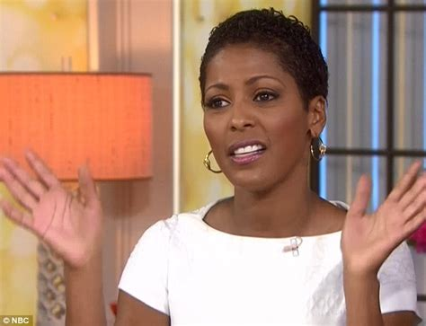 Today Show Hosts Hair | tamron hall debuts her natural wavy crop on today show