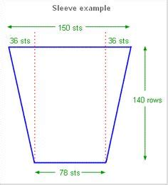 increase calculator knitting how to design a sleeve cap and discussion of stitches and