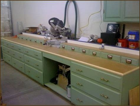build miter saw bench the essential workshop bench you are going to need gotta