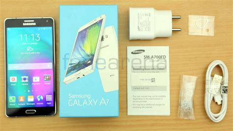 samsung galaxy a7 unboxing
