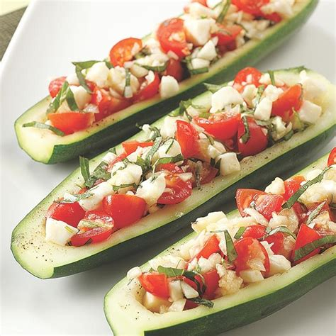 vegetarian gluten free zucchini boats gluten free recipes eatingwell