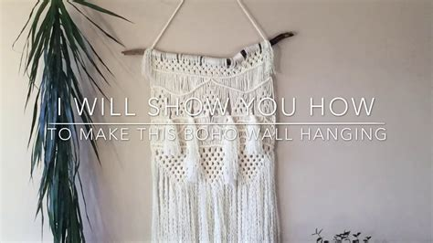 Wall Hanging Tutorial - macrame hangings diy step by step tutorial