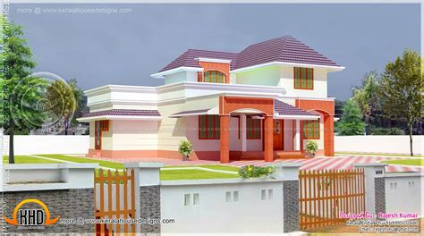 how to renovate old house in india renovation model of a 1860 sq feet doodle storied house kerala home design and floor