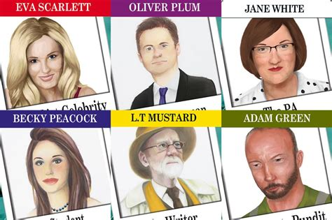 East Coast Game Rooms - geordie version of cluedo features some slightly familiar faces chronicle live