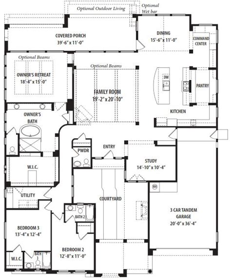 serendipity floor plan by tw lewis victory at verrado