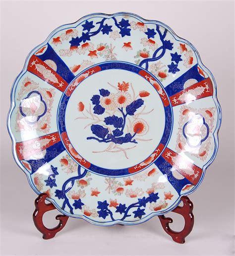antique reproduction floor ls reproduction floral imari porcelain charger 18 quot