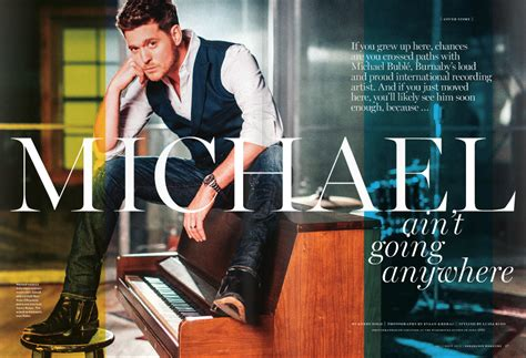 design magazine vancouver lizbell agency michael bubl 233 featured in vancouver