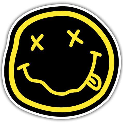 design free band logo band sticker printing designs nirvana png logo 2901