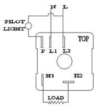 kiln infinite switch 240 volt 120 volt 208 volt