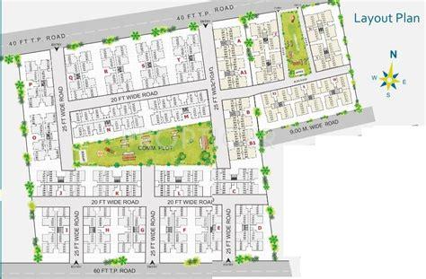 layout plan of township aroma aakruti township in narolgam ahmedabad price