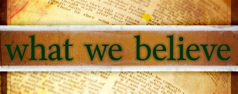 What We Believe welcome holy spirit international ministries what we believe