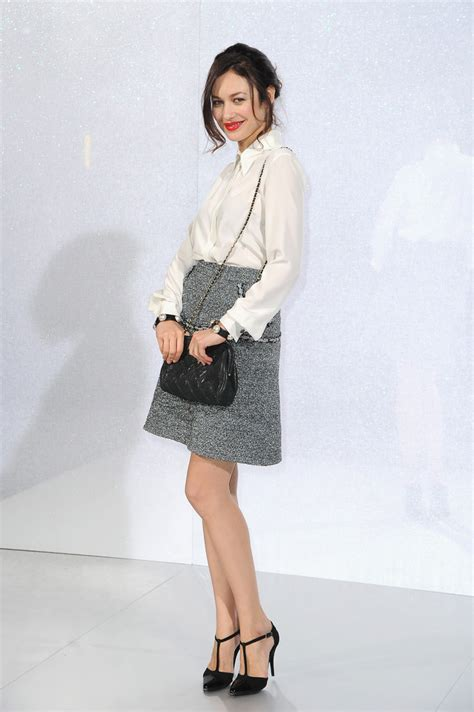 Chanel Haute Couture 2008 Front Row by Olga Kurylenko At Chanel Haute Couture Front Row Fashion