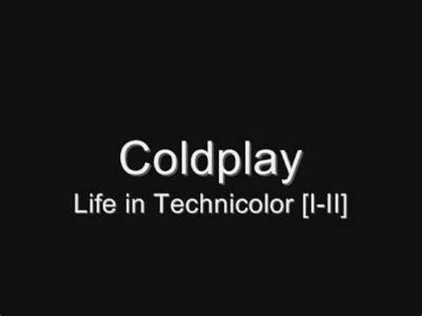 coldplay life in technicolor coldplay life in technicolor i ii lyrics youtube