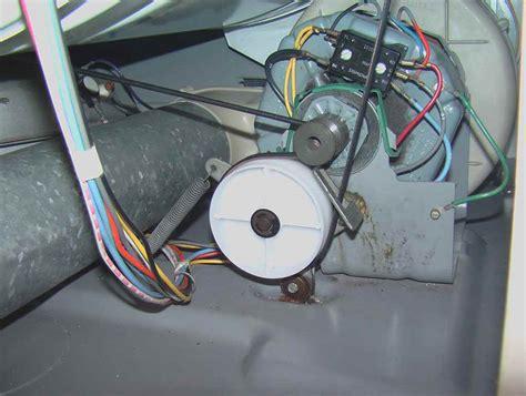 belt diagram for maytag dryer appliancejunk maytag dryer belt around motor pulley