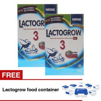 Lactogrow 3 750 Gr Box Original lactogrow 3 happynutri 750 gr bundle isi 2 box