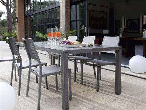 table et chaise de jardin en aluminium table et chaise de jardin en aluminium