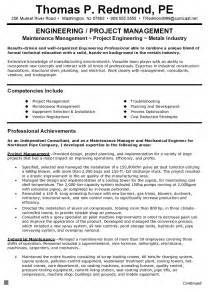 resume sle best management consultant resume sle