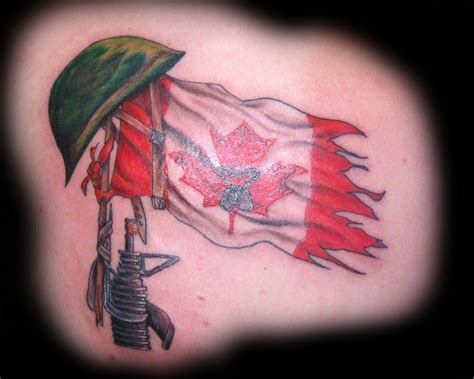canadian flag tattoo designs flag tattoos and designs page 18