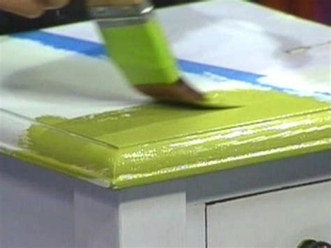 tips on painting furniture diy