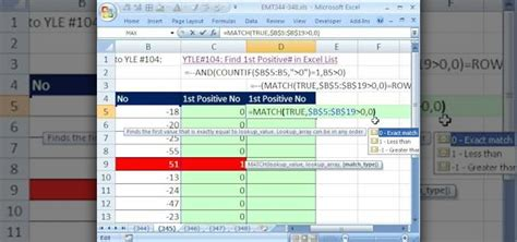 How To Find Positive How To Find The Positive Number In A List In Excel 171 Microsoft Office