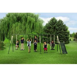 kmart metal swing sets 9 play metal play set swing and slide with kmart