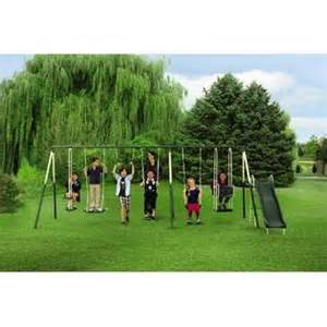 kmart swing sets on sale 9 play metal play set swing and slide with kmart