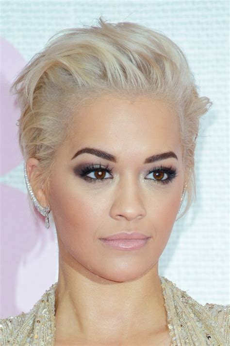 rita ora hair 2015 celebrity undercut hairstyles page 3 of 10 steal her