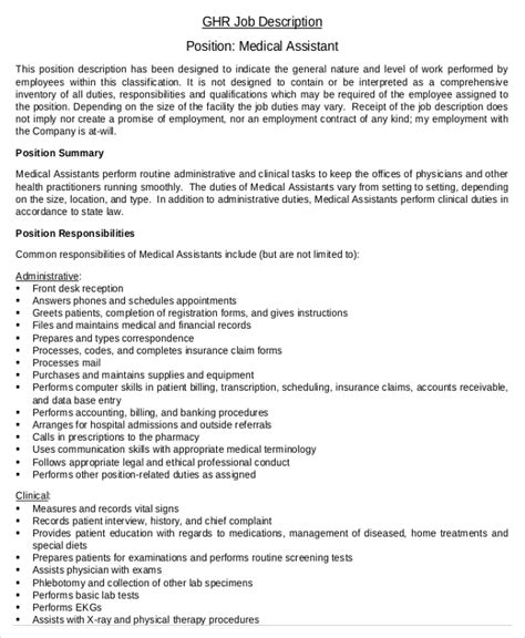 sample resume for medical office assistant shalomhouse us