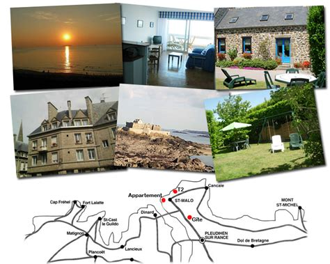 location de vacances 224 saint malo 2 appartements dont un