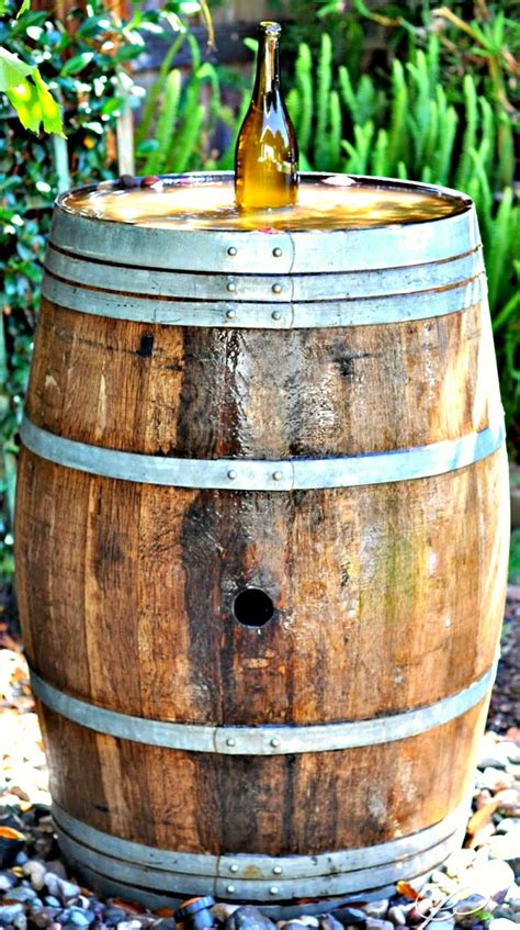 dashing diy wine barrel with 60 best images about outdoor yard inspiration diy tips ideas on water