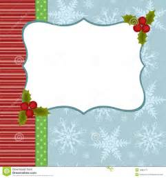 blank template for christmas greetings card royalty free