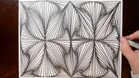 pattern drawing youtube how to draw line illusions doodle pattern sketch 8 youtube