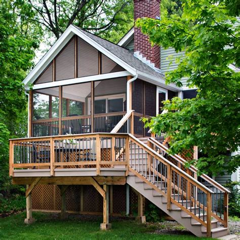 log cabin front porch archadeck outdoor living customized screened porch archadeck outdoor living