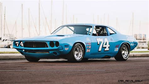Dodge Racing Cars by 1973 Dodge Challenger Race Car Ex Dale Earnhardt