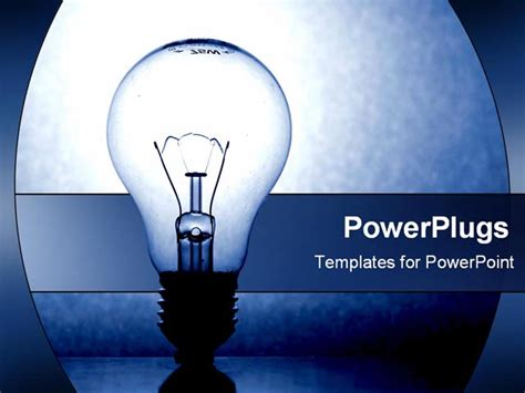 light blue powerpoint template images