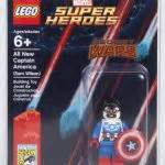 Lego Mini Figure Sam Wilson Captain America exclusive sdcc 2015 lego dc comics 1 set bricks