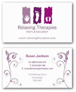 foot shaped business cards reflexology business cards by ne14 design