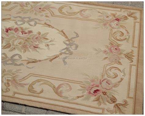 aubusson area rugs 3x5 aubusson area rug antique pastel wool handmade flat weave carpet ebay