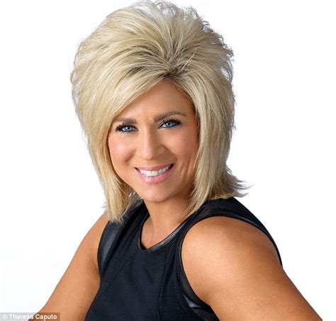 is theresa caputo wearing a wig long island medium theresa caputo unveils new