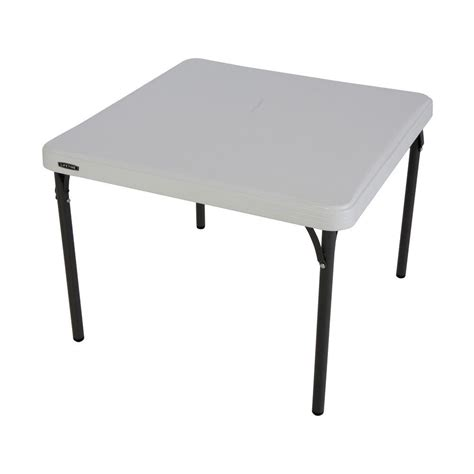 Lifetime Folding Table by Lifetime White Children S Folding Table 80534 The Home Depot