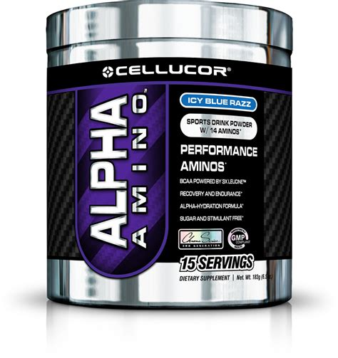 Amino Gift Cards - cellucor alpha amino sports drink 15 servings by cellucor golf supplements