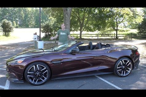 Cost Of Aston Martin Vanquish by Here S Why The Aston Martin Vanquish S Costs 350 000