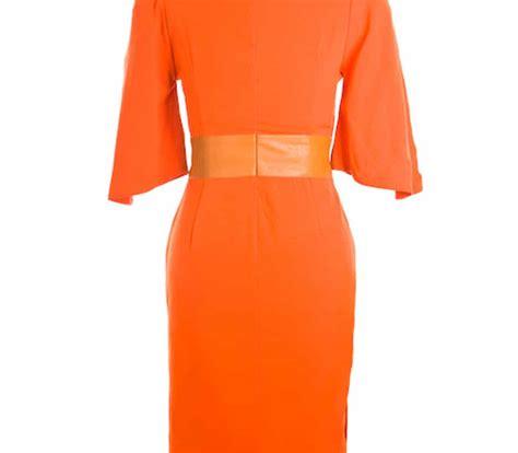house of ilona andreina dress orange house of ilona designer clergy dresses