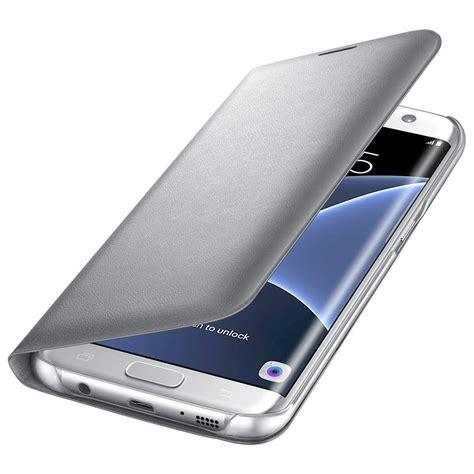 Bumper Led Samsung S7 Edge Biru bao da led view cover galaxy s7 edge ch 237 nh h 227 ng