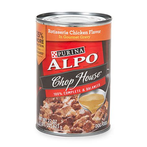 alpo chop house dog food alpo 174 chop house 174 and prime cuts 174 wet dog food big lots