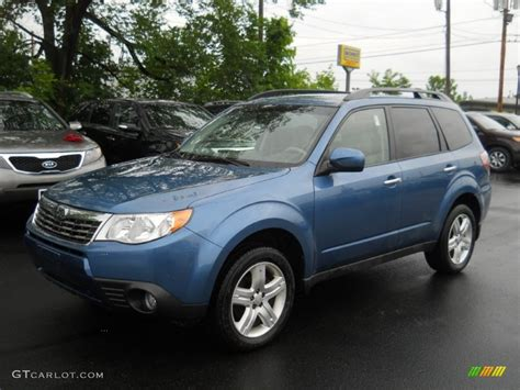 blue subaru forester 2010 newport blue pearl subaru forester 2 5 x limited